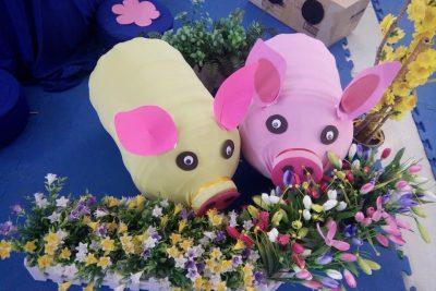 """Phòng GDĐT Krông Bông tổ chức Hội thi """"Cô và trẻ làm đồ dùng đồ chơi tự tạo"""" ngành học mầm non cấp huyện, năm học 2018-2019"""