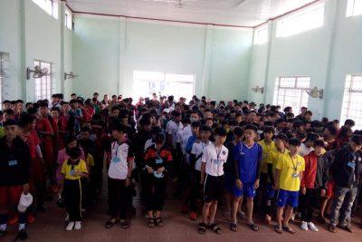 Khai mạc giải điền kinh, bóng đá học sinh Phổ thông năm học 2018-2019