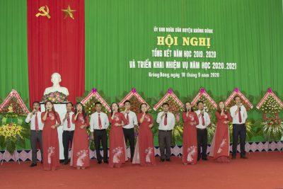 Hội nghị tổng kết năm học 2019-2020 và triển khai phương hướng nhiệm vụ năm học 2020-2021 ngành Giáo dục huyện Krông Bông
