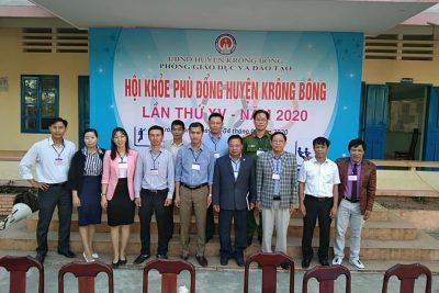 Huyện Krông Bông tổ chức Khai mạc Hội khỏe phù đổng năm 2020