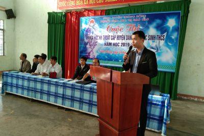 Phòng Giáo dục Đào tạo huyện Krông Bông tổ chức cuộc thi Khoa học kĩ thuật cấp huyện năm 2019
