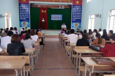 Phòng Giáo dục và Đào tạo huyện Krông Bông tổ chức Lễ khai mạc Hội thi giáo viên tiểu học dạy giỏi cấp huyện năm học 2018-2019