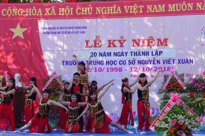 Trường THCS Nguyễn Viết Xuân huyện Krông Bông kỷ niệm 20 năm ngày thành lập