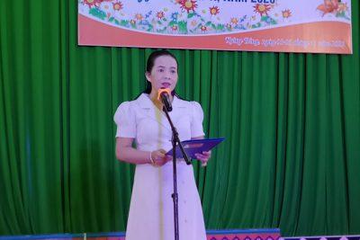 """Hội thi """"Giai điệu tuổi hồng"""" ngành Giáo dục huyện Krông Bông năm 2020"""